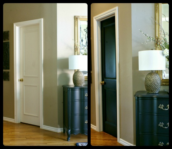 Thinking Of Painting Your Interior Doors Black Our