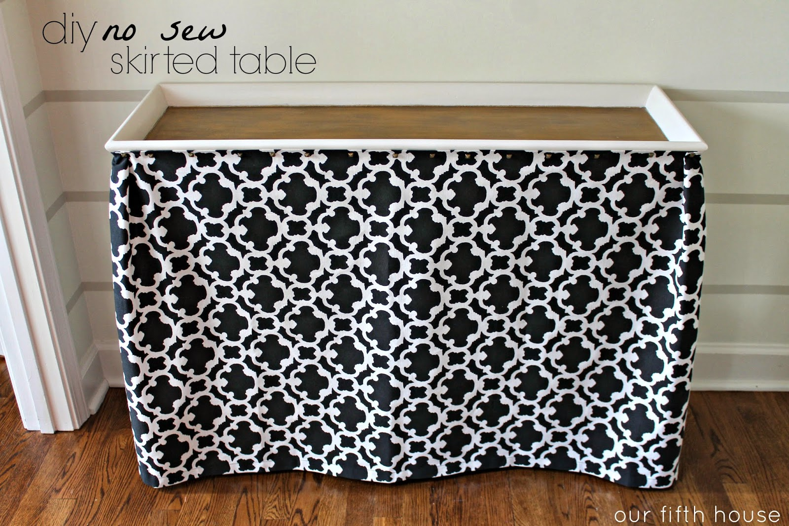 How to make a fabric table cover - How To Make A Fabric Table Cover 12