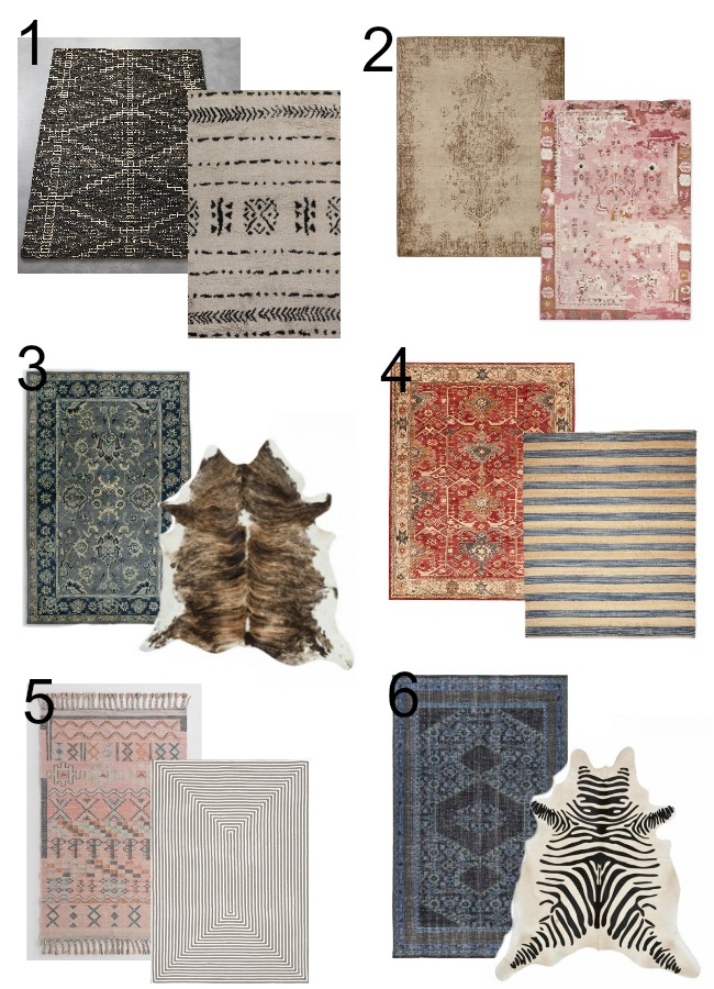 Design Dilemma How To Coordinate Rugs Our Fifth House