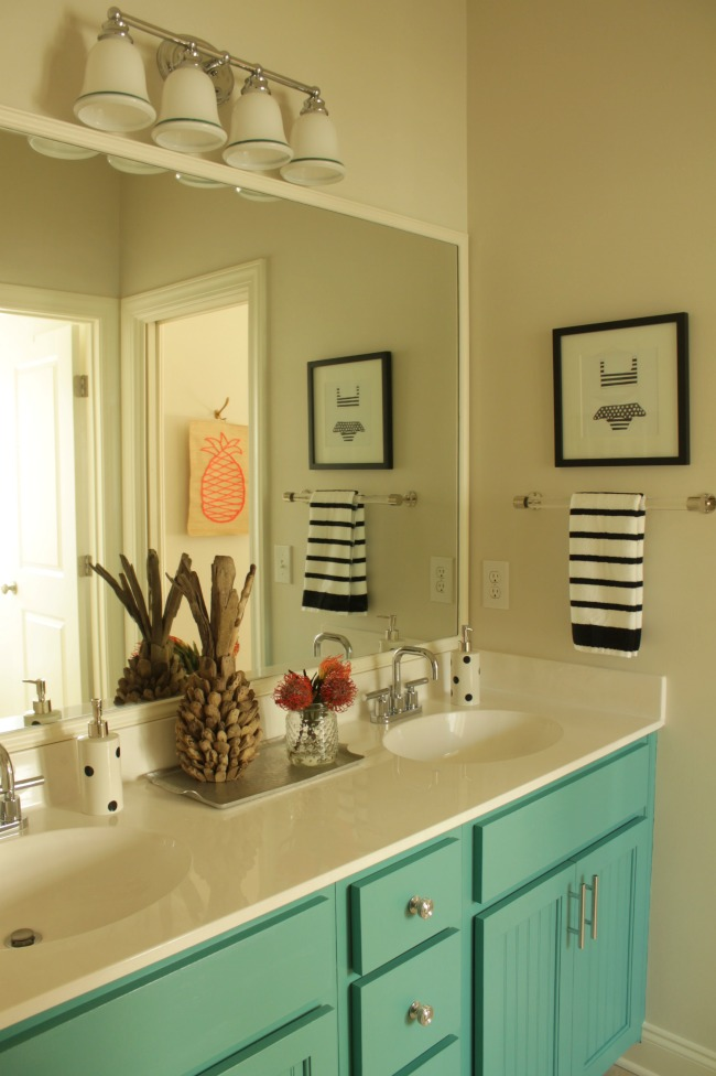 Girls Guest Bathroom Makeover Our Fifth House