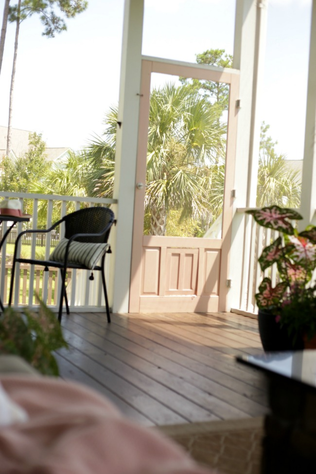 Screen Porch Floor To Paint Or Stain What Color Our Fifth House